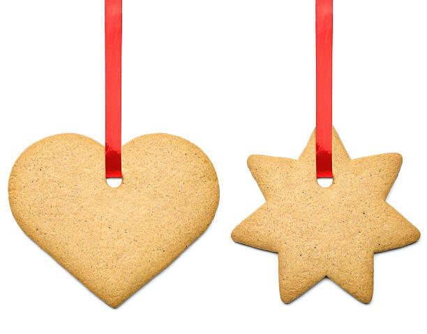 lebkuchen-cookies - lebkuchenherzen stock-fotos und bilder
