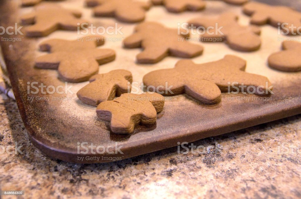 Gingerbread Cookies stock photo