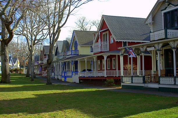 Gingerbread Cottages of Martha's Vineyard – Foto