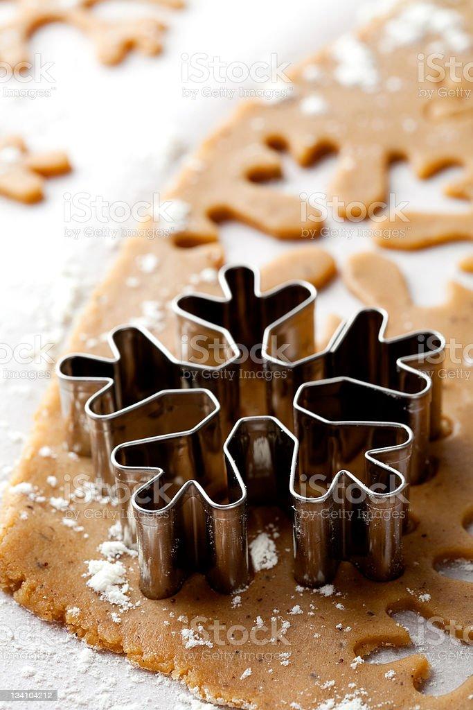 Gingerbread dough royalty-free stock photo