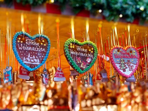gingerbread hearts - Lebkuchenherz