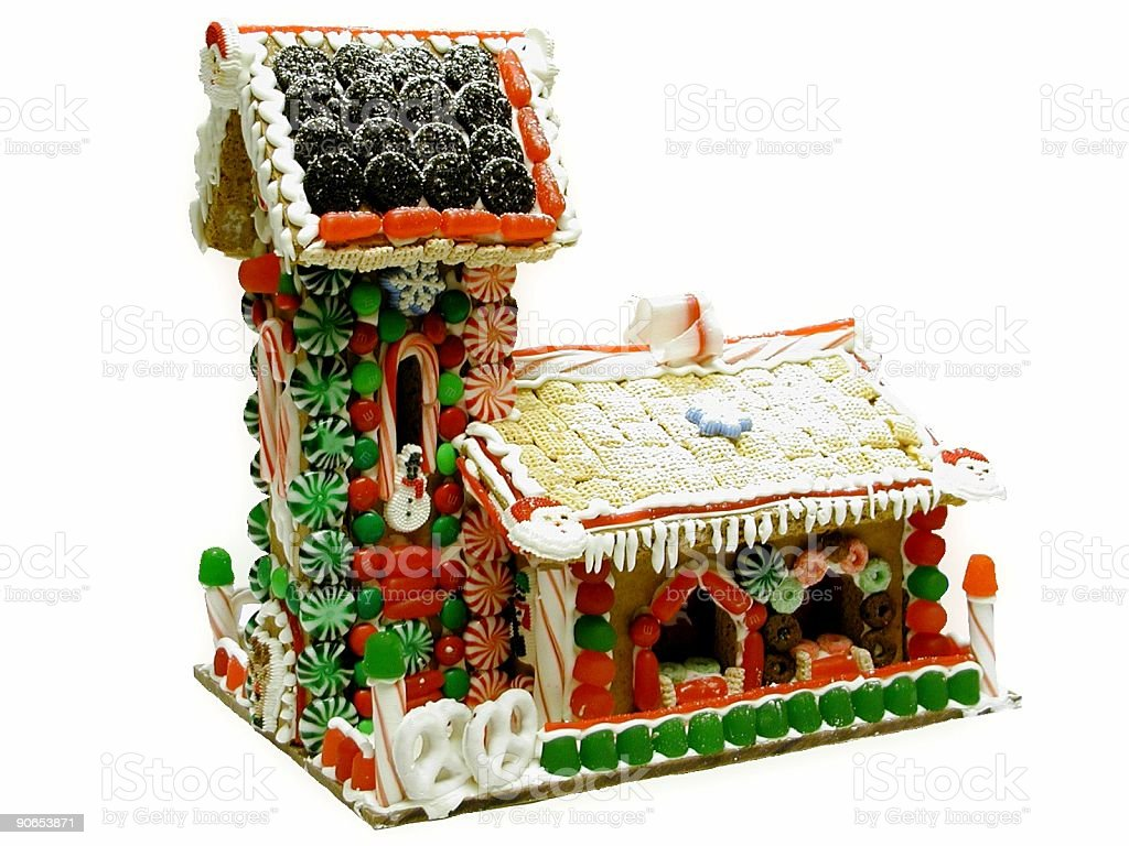 Gingerbread House 2 royalty-free stock photo