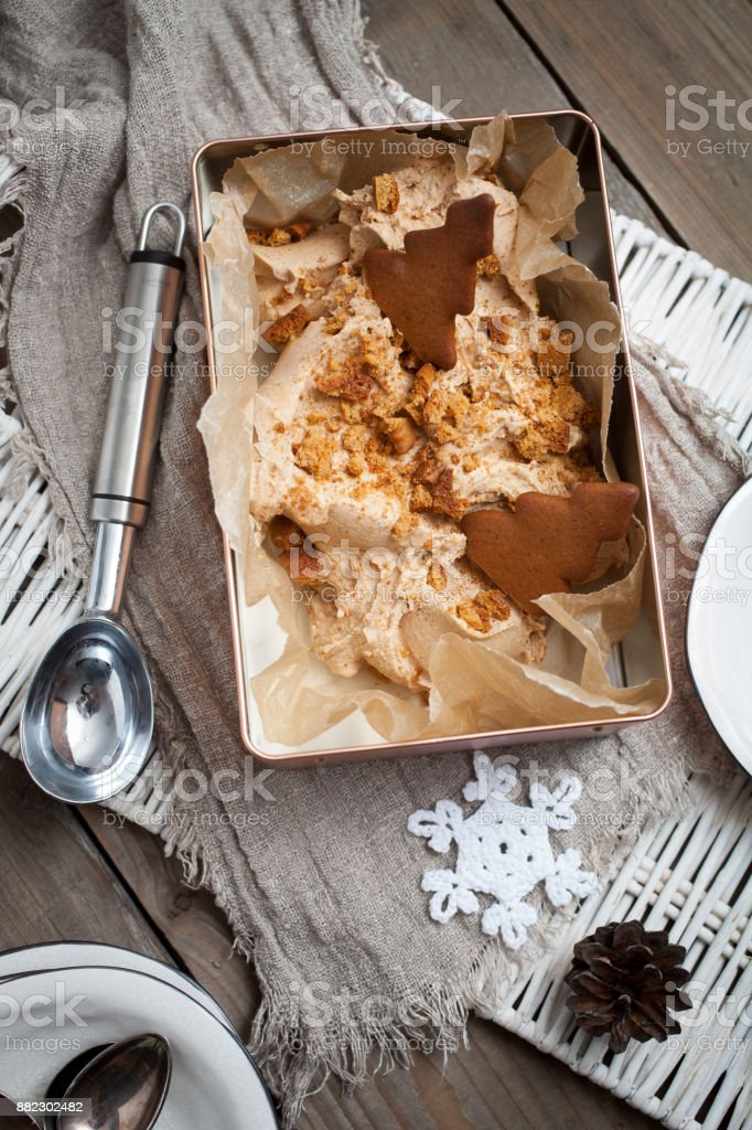 Lebkuchen-Eis – Foto