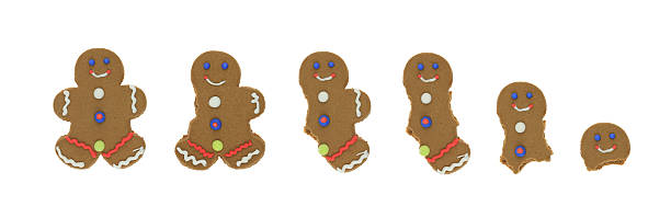 Gingerbread Man Series stock photo