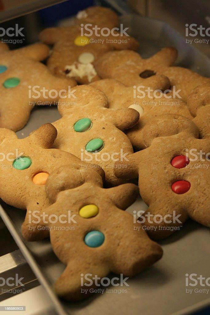 Gingerbread Men... royalty-free stock photo