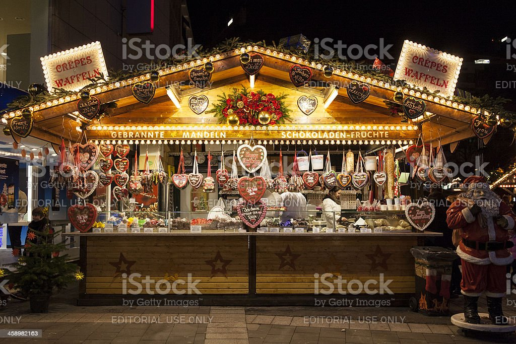 Gingerbread stand - Royalty-free Afbeelding Stockfoto