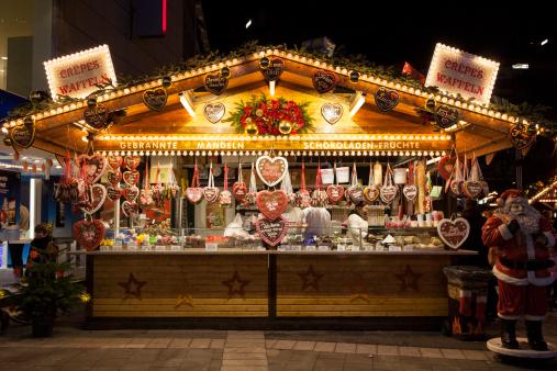 Gingerbread Stand Stockfoto en meer beelden van Afbeelding