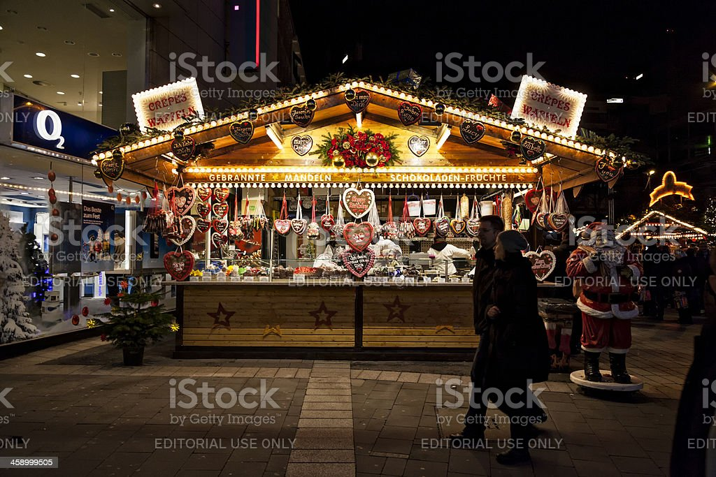 Gingerbread stand royalty-free stock photo