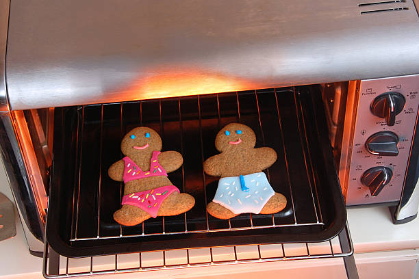 Gingerbread Tanning Salon stock photo