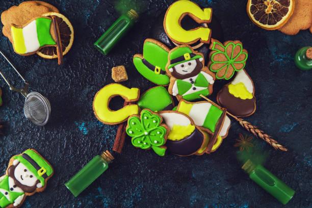 Gingerbreads Cookies für Patrick es Day – Foto