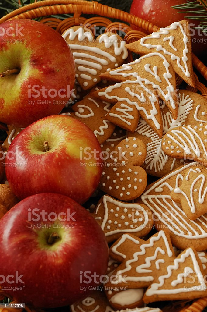 Gingerbreads for Christmas royalty-free stock photo