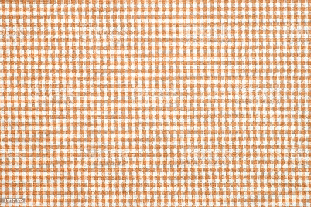 gingham pattern fabric stock photo