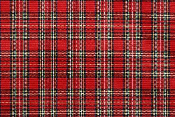 gingham pattern fabric  red cloth stock pictures, royalty-free photos & images