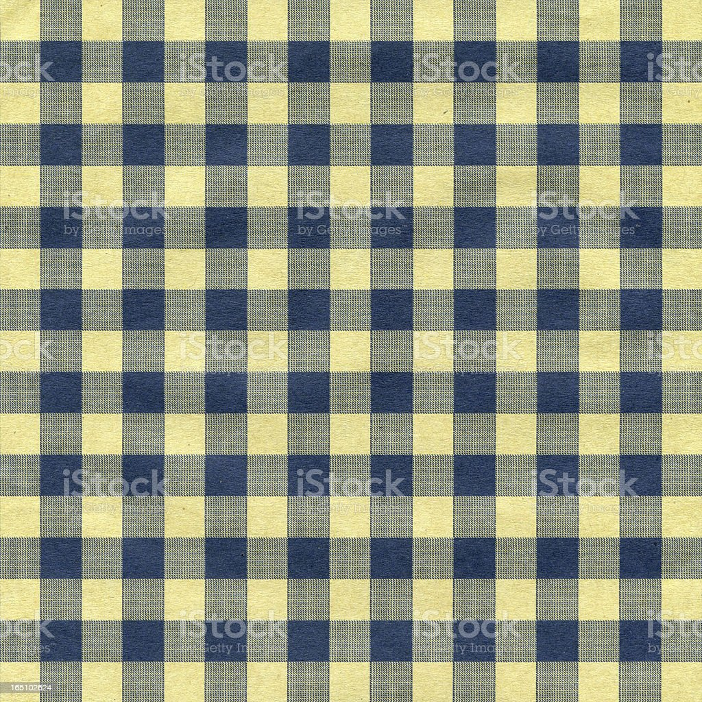 Gingham Tablecloth Pattern background textured (XXXL) stock photo