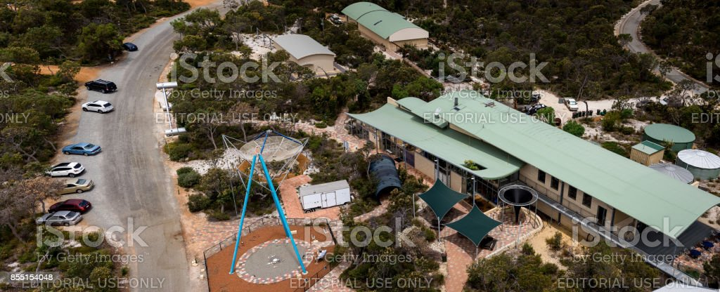 Gingin, Western Australia, January 2016: A view of the Gravity Discover Center stock photo