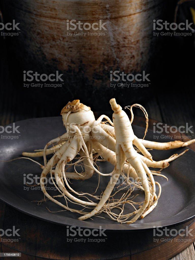 Ginseng royalty-free stock photo