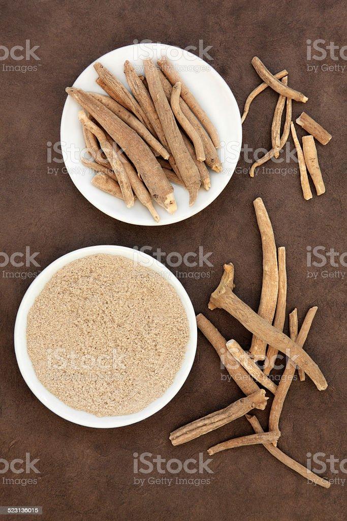 Ginseng stock photo