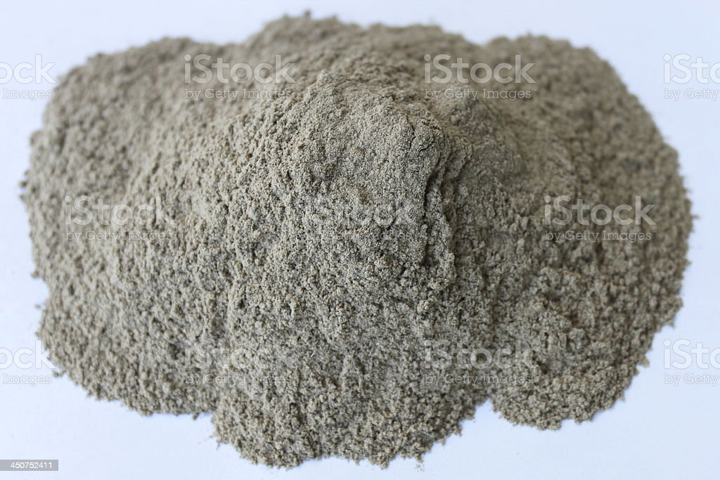 Ginseng Root Siberian Powder stock photo
