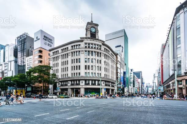 銀座区 東京日本 - アジア大陸のストックフォトや画像を多数ご用意