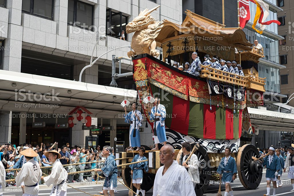 Gion Matsuri festival 10 royalty-free stock photo