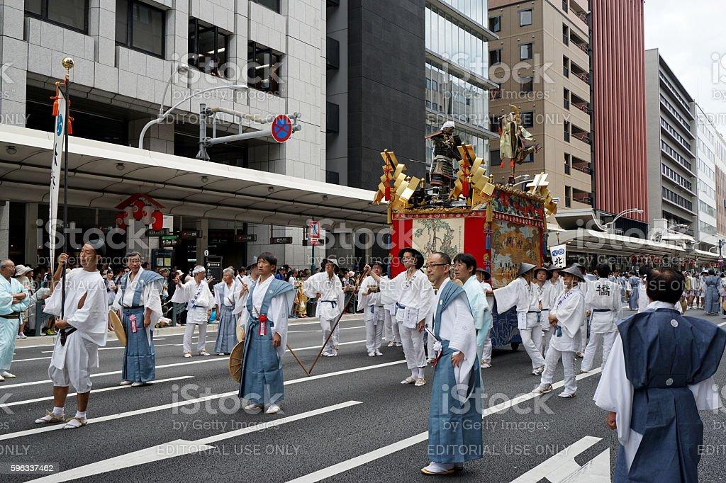 Gion Matsuri festival 2 Lizenzfreies stock-foto