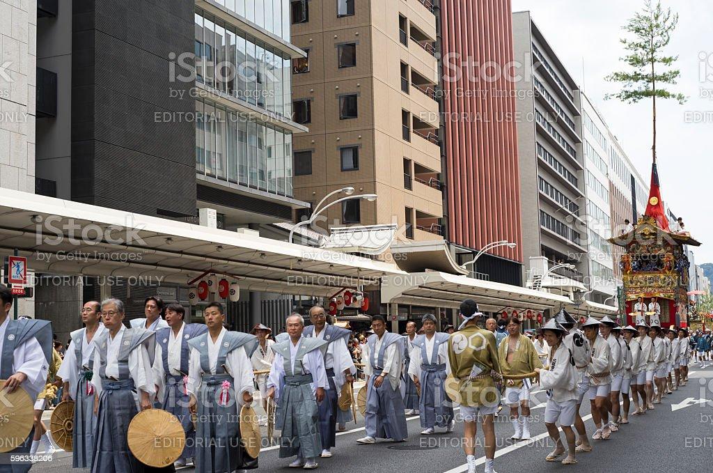 Gion Matsuri festival 4 royalty-free stock photo