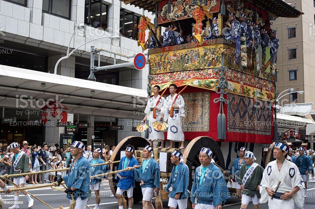 Gion Matsuri festival 6 Lizenzfreies stock-foto