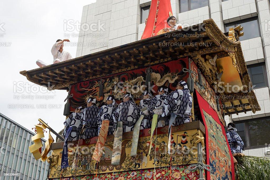 Gion Matsuri festival 7 royalty-free stock photo