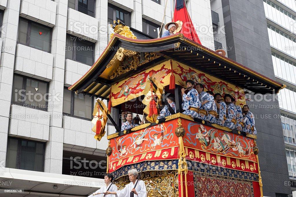 Gion Matsuri festival 8 Lizenzfreies stock-foto