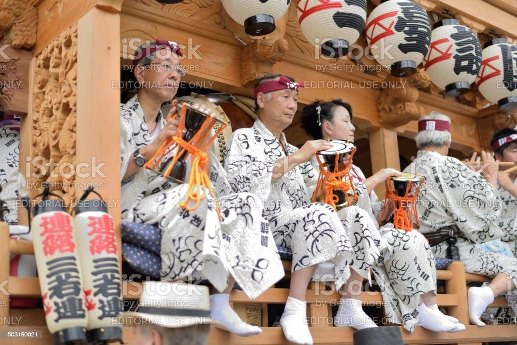 Gion Matsuri stock photo