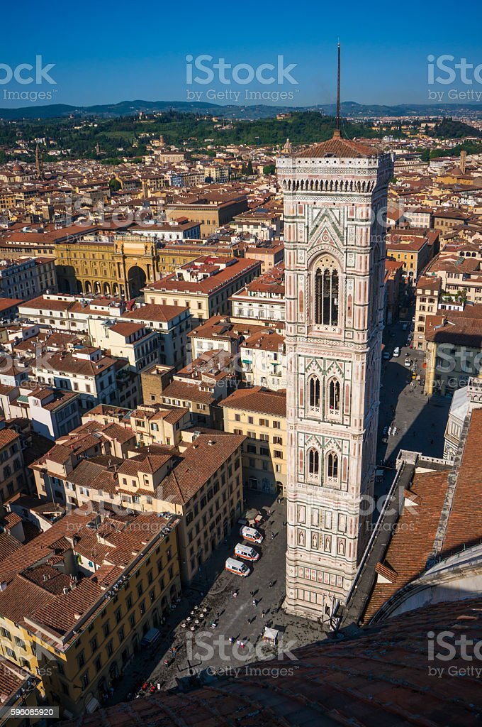 Giotto's Campanile royalty-free stock photo