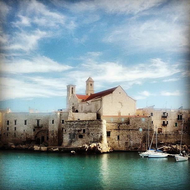 Giovinazzo - Bari, Puglia (Apulia) Southern Italy. Old Town stock photo