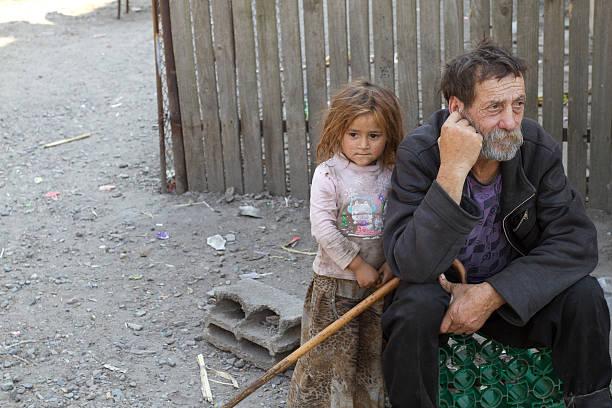 Gipsy Großvater & Nichte – Foto