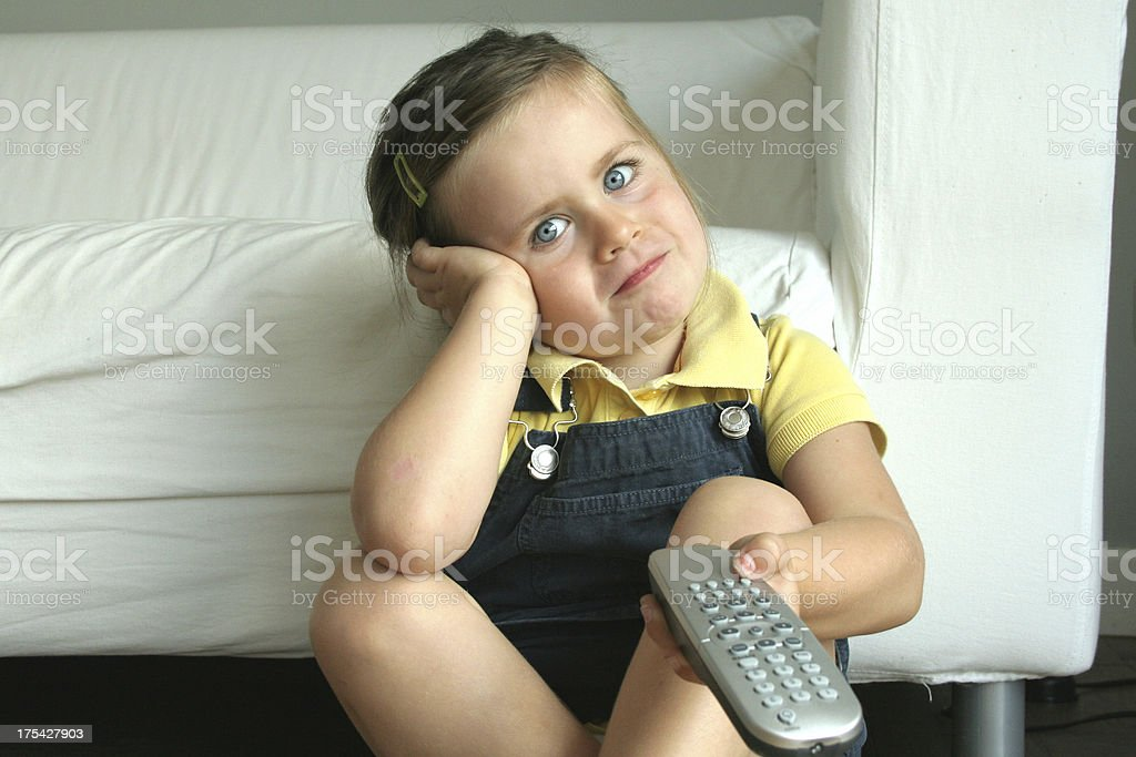 gir and remote control royalty-free stock photo