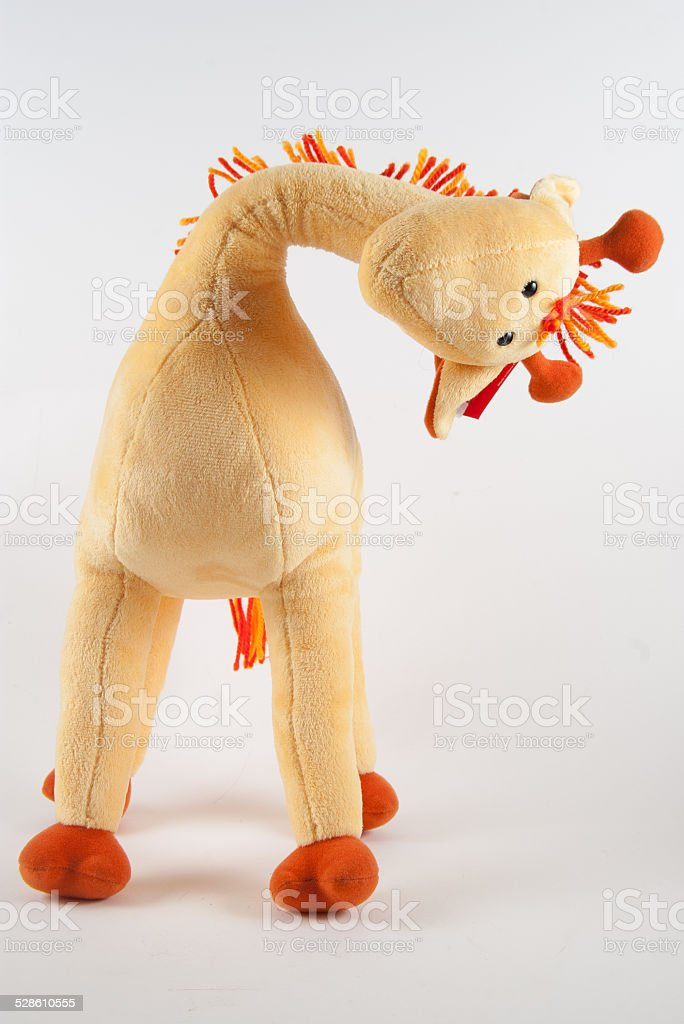 Giraffe with bendy neck This giraffe has a bendy neck. Cut Out Stock Photo