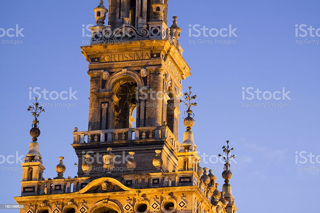Giralda Bell Tower Seville royalty-free stock photo