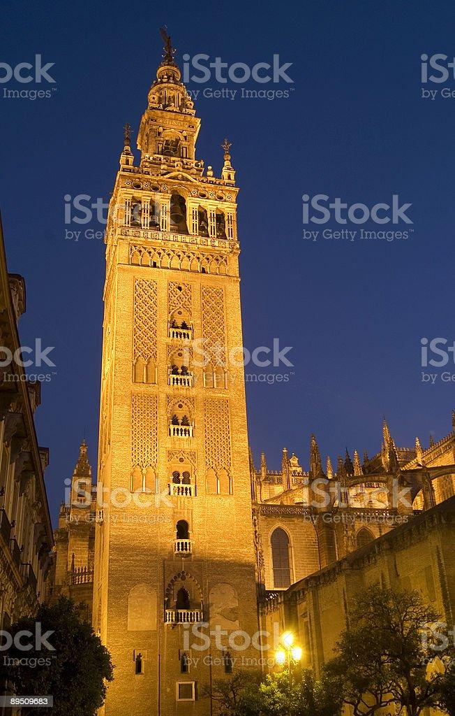 Giralda In Seville royalty-free stock photo