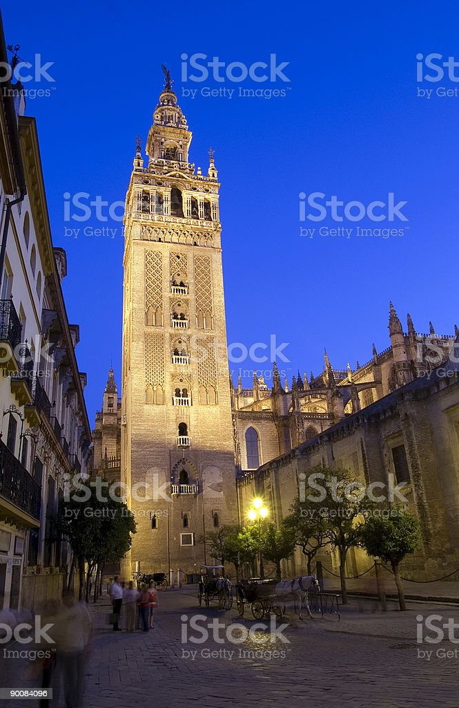 Giralda In Seville royalty-free stock photo