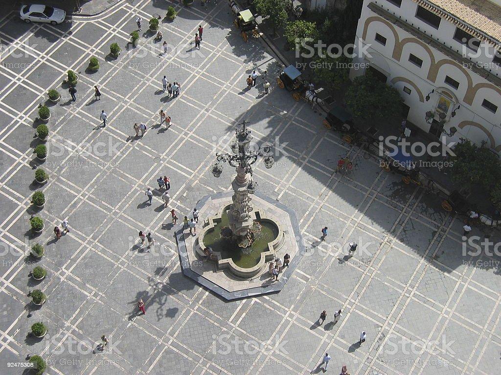 Giralda tower royalty-free stock photo