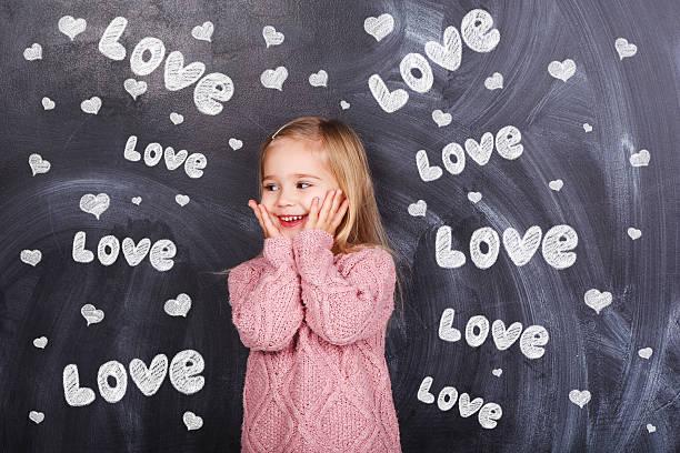 Mädchen mit Liebe – Foto