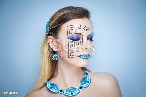 istock girl art beauty 902640308