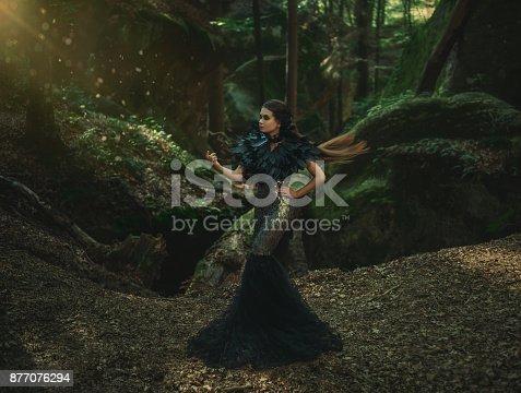 istock Girl - Dark Queen 877076294