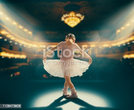 istock girl dreaming of becoming a ballerina 1128473828