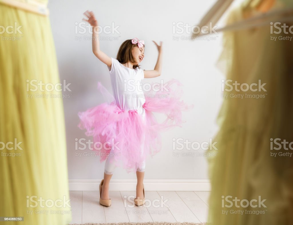 girl dressing up at home - Royalty-free Beauty Stock Photo
