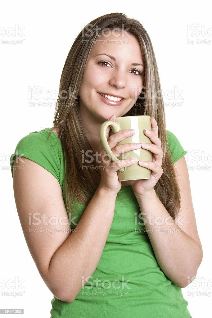 Dziewczyna picie zbiór zdjęć royalty-free