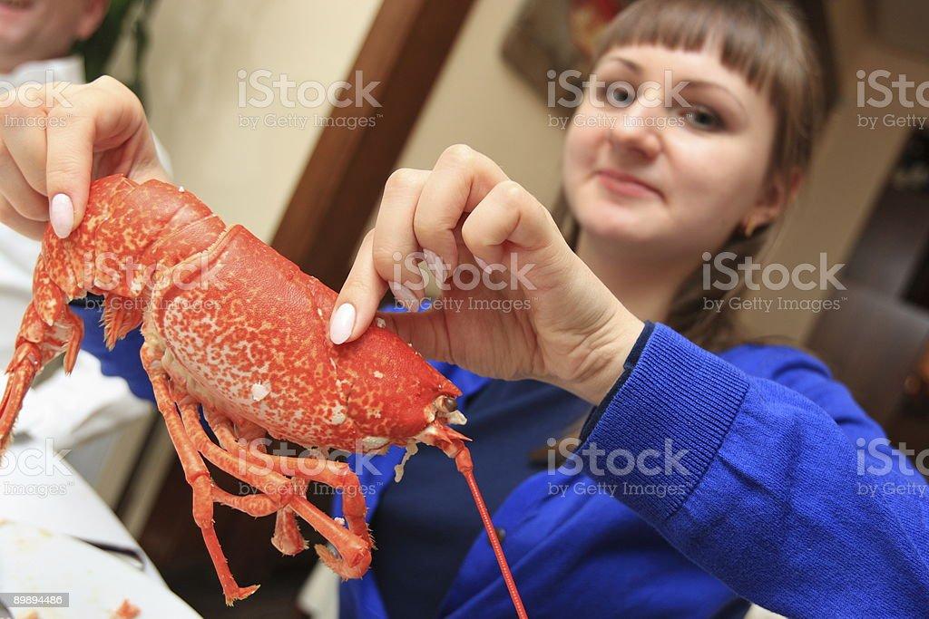 Girl eats « Стоковые фото Стоковая фотография