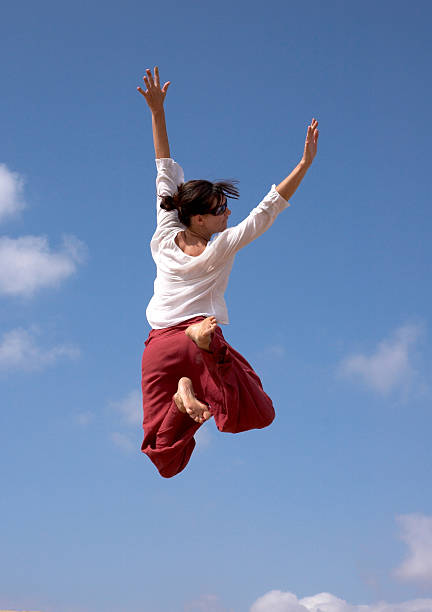 Mädchen flying – Foto