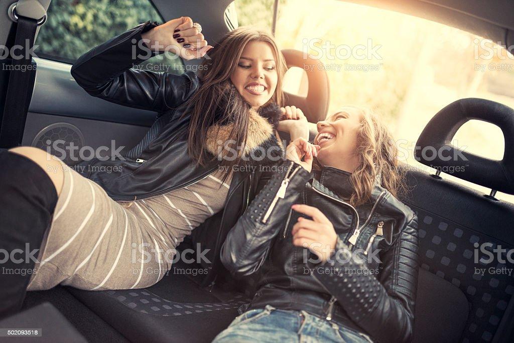 Back seat lesbians