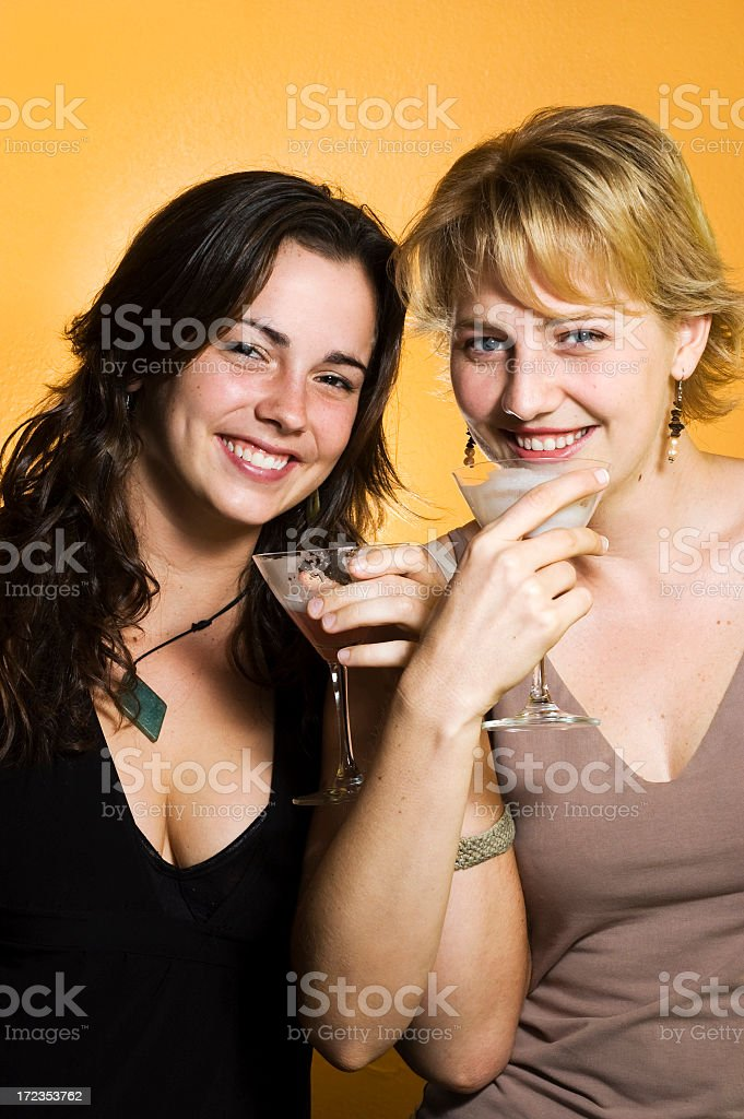 Girl Friends royalty-free stock photo