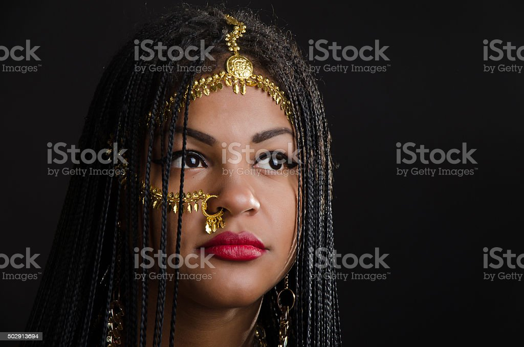 girl from India stock photo